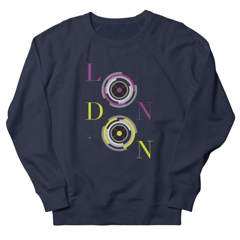 London always on Men's Sweatshirt by virbia's Artist Shop