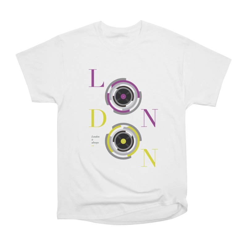London always on Men's Heavyweight T-Shirt by virbia's Artist Shop