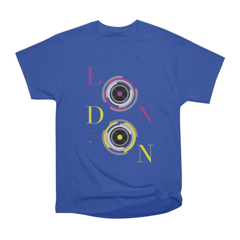 London always on Men's T-Shirt by virbia's Artist Shop