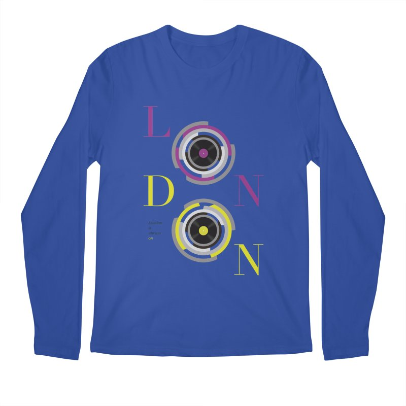 London always on Men's Regular Longsleeve T-Shirt by virbia's Artist Shop