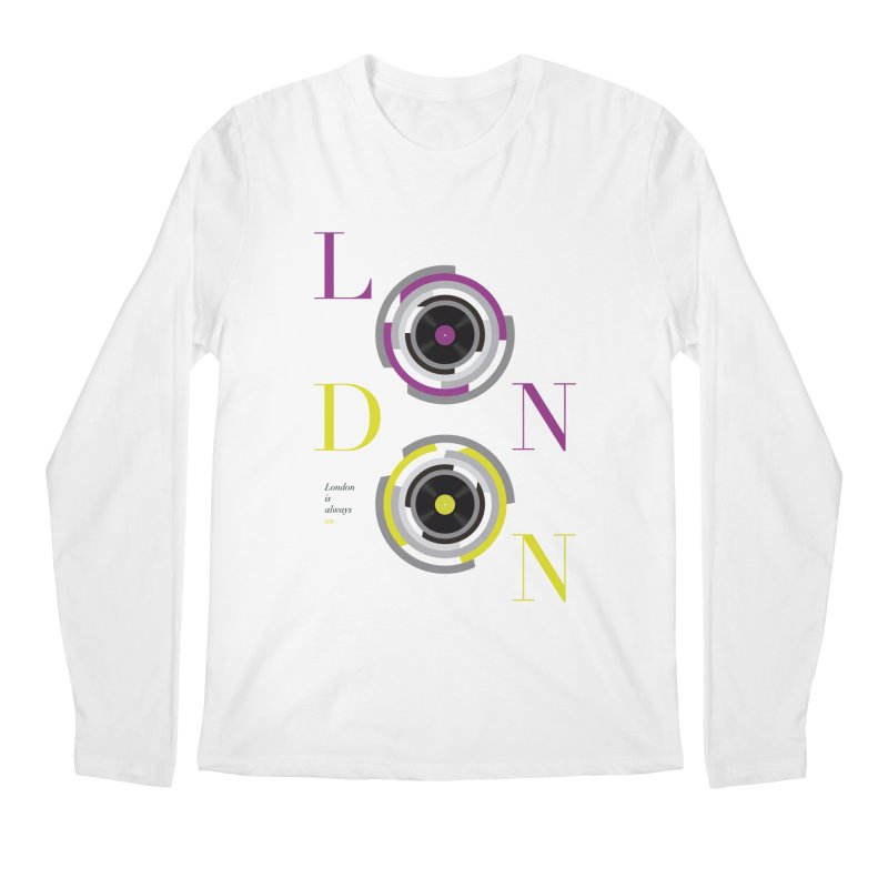 London always on Men's Regular Longsleeve T-Shirt by virbia's Artist Shop