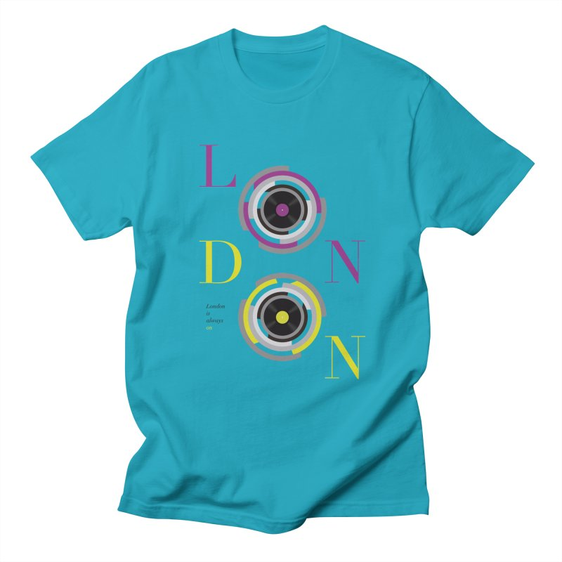 London always on Men's Regular T-Shirt by virbia's Artist Shop