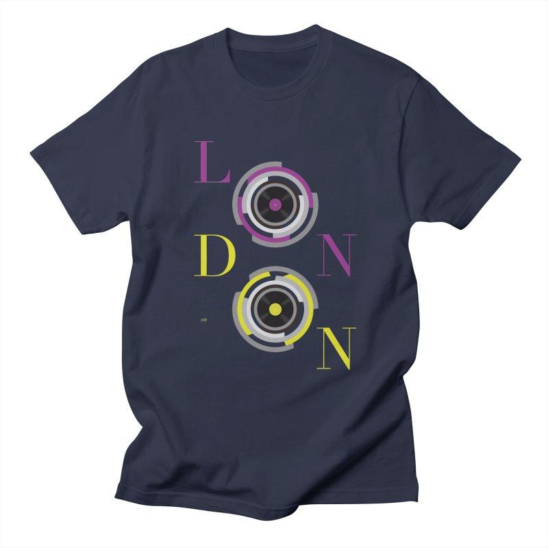 London always on Men's Regular T-Shirt by virbia's Artist Shop