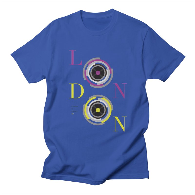 London always on Men's T-Shirt by virbia's Artist Shop