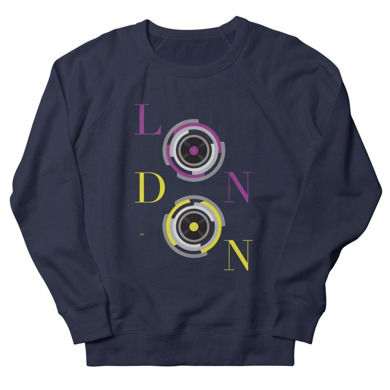 London always on Men's French Terry Sweatshirt by virbia's Artist Shop