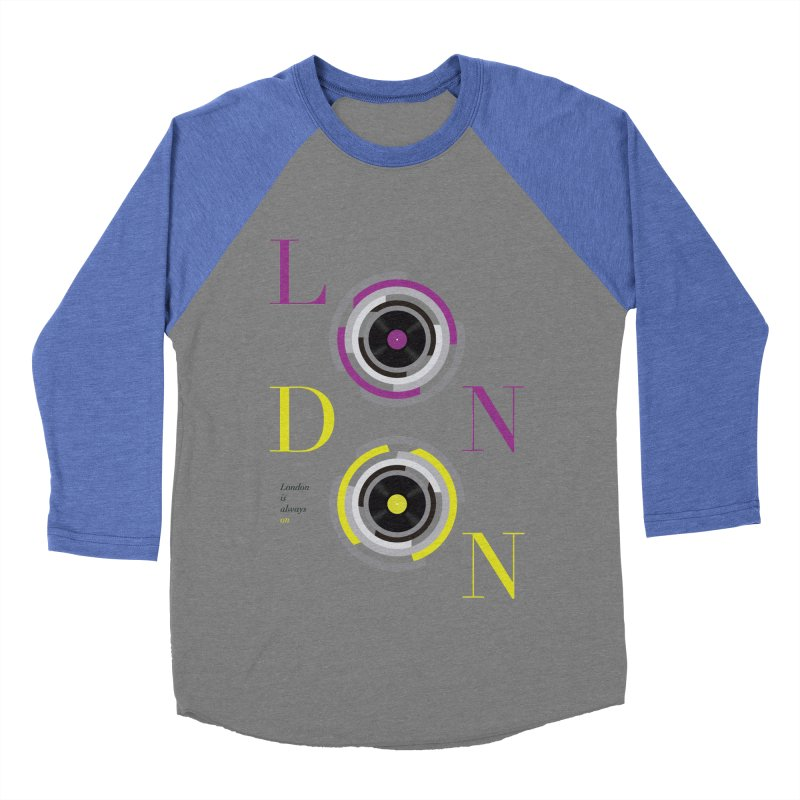 London always on Women's Longsleeve T-Shirt by virbia's Artist Shop