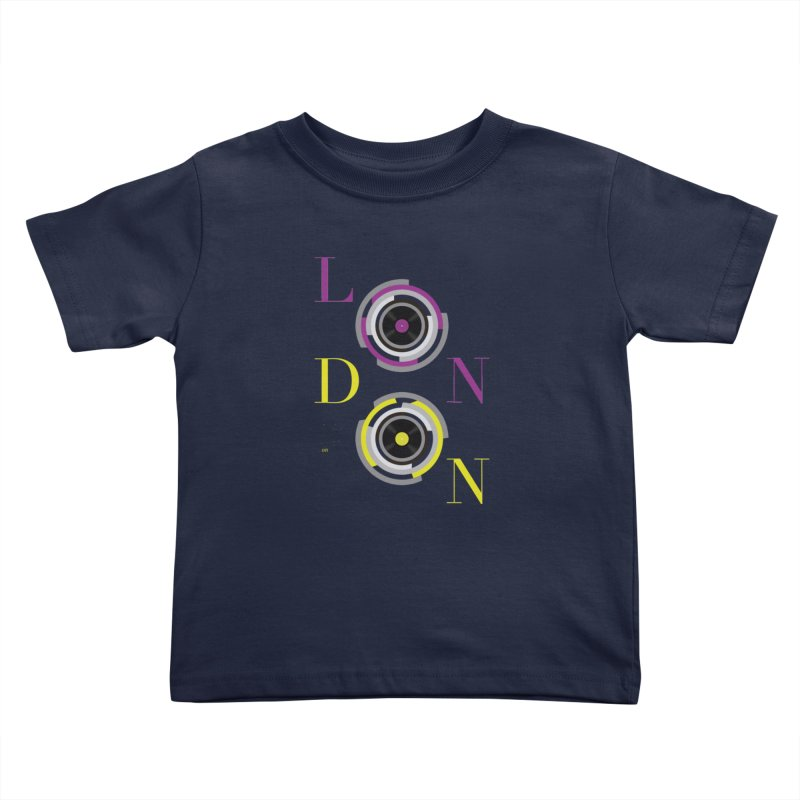 London always on Kids Toddler T-Shirt by virbia's Artist Shop