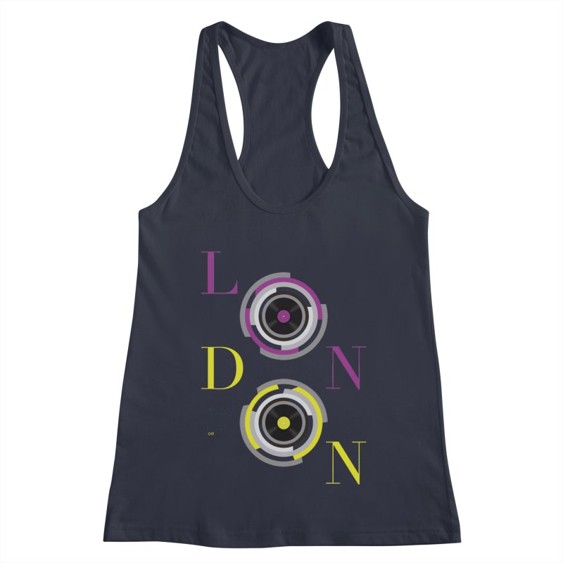 London always on Women's Tank by virbia's Artist Shop