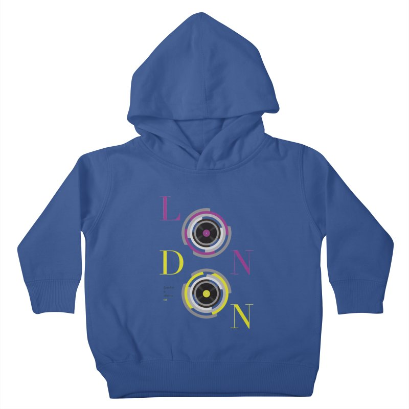 London always on Kids Toddler Pullover Hoody by virbia's Artist Shop