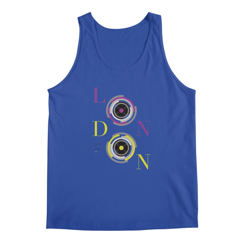 London always on Men's Tank by virbia's Artist Shop