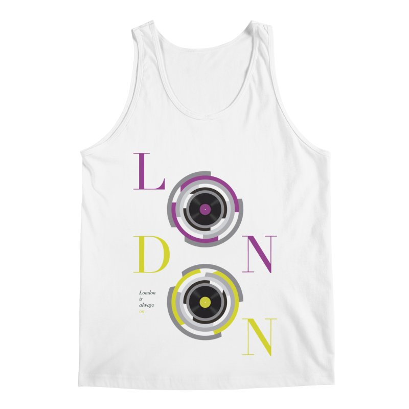 London always on Men's Regular Tank by virbia's Artist Shop