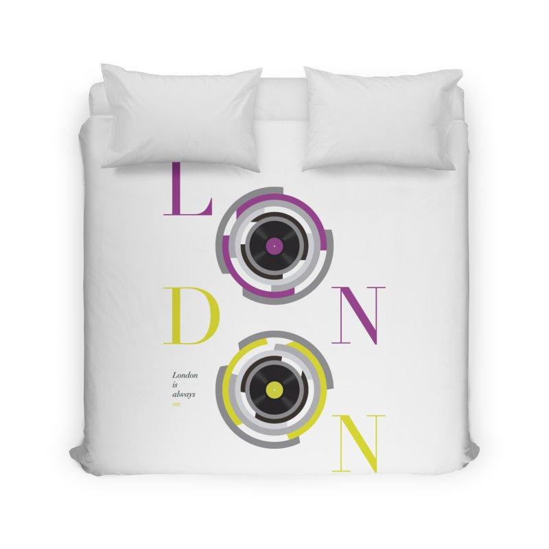London always on Home Duvet by virbia's Artist Shop