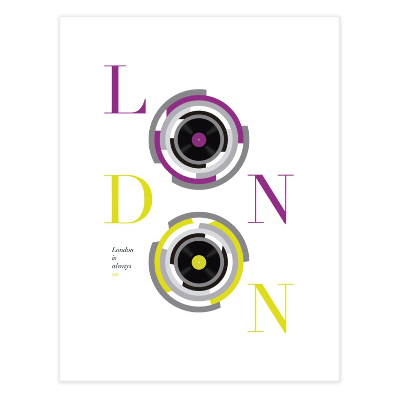 London always on Home Fine Art Print by virbia's Artist Shop