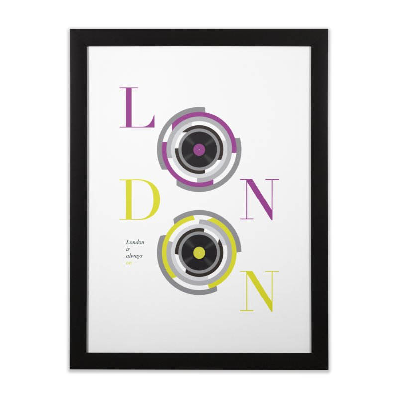 London always on Home Framed Fine Art Print by virbia's Artist Shop