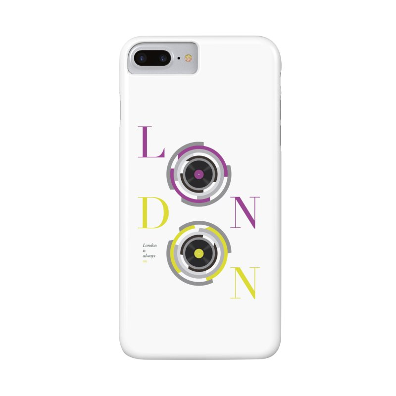 London always on Accessories Phone Case by virbia's Artist Shop