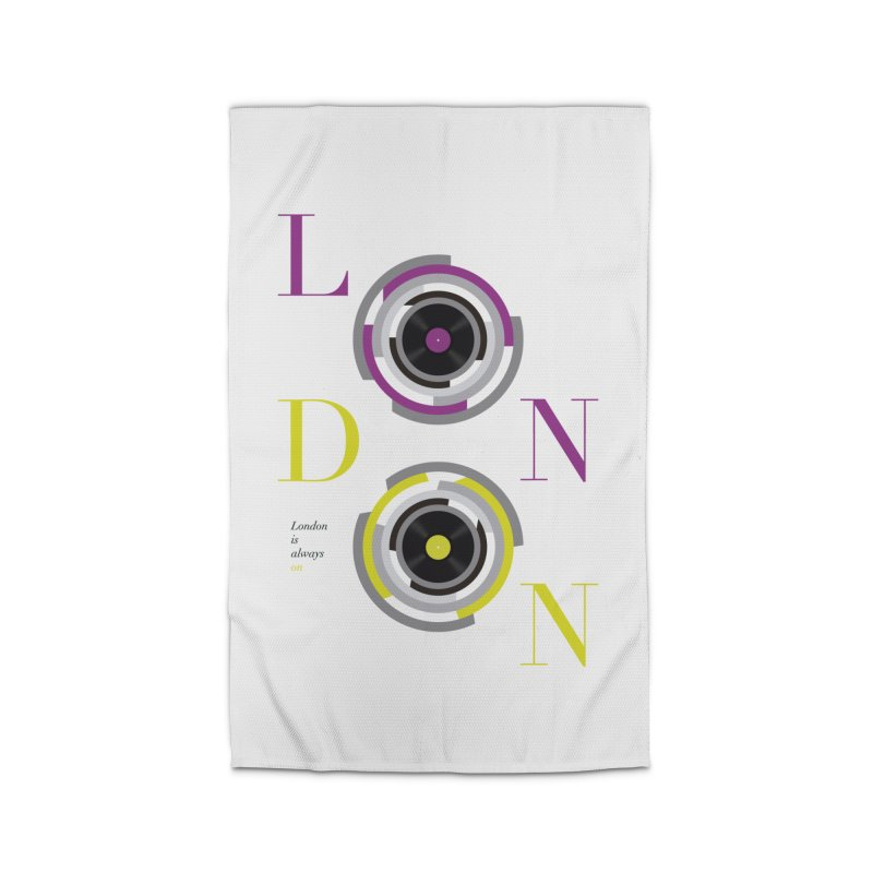 London always on Home Rug by virbia's Artist Shop