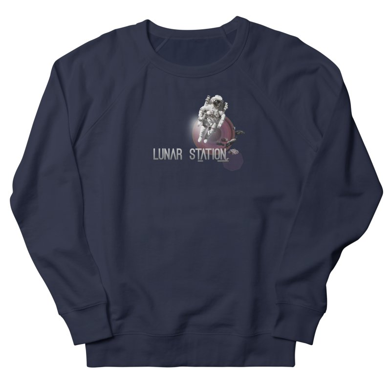 Lunar Station Men's Sweatshirt by virbia's Artist Shop