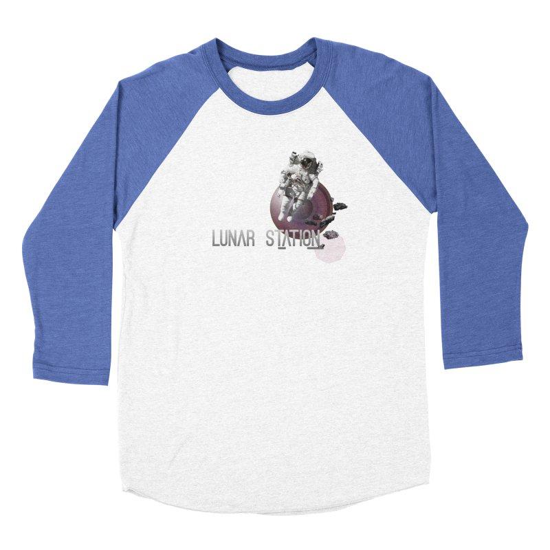 Lunar Station Men's Longsleeve T-Shirt by virbia's Artist Shop