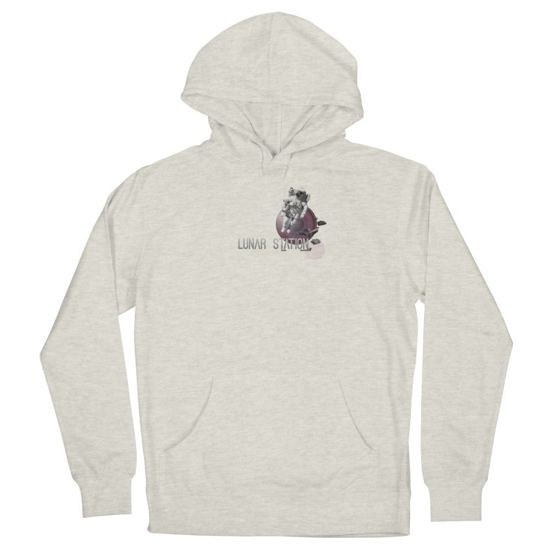 Lunar Station Men's Pullover Hoody by virbia's Artist Shop