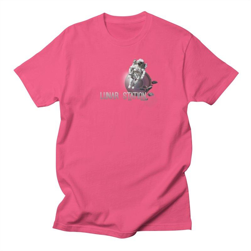 Lunar Station Women's Regular Unisex T-Shirt by virbia's Artist Shop