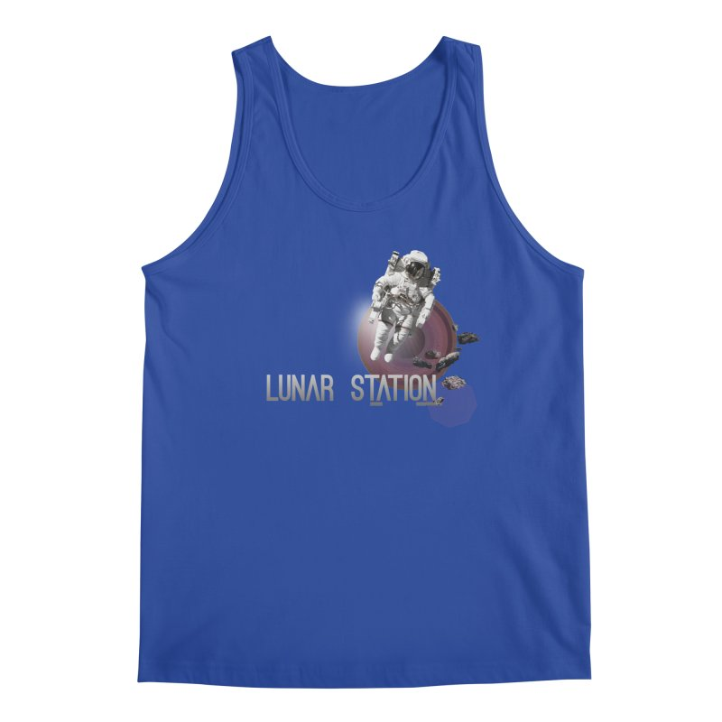 Lunar Station Men's Tank by virbia's Artist Shop