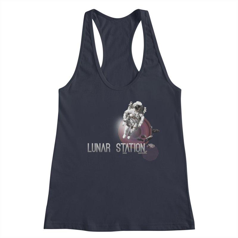 Lunar Station Women's Tank by virbia's Artist Shop