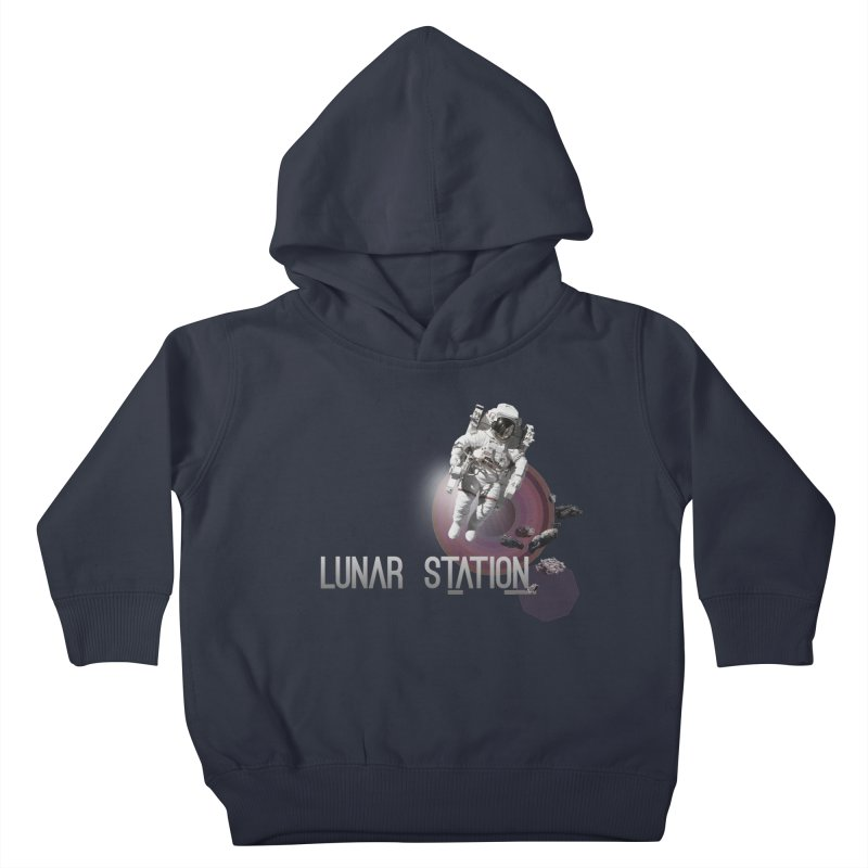 Lunar Station Kids Toddler Pullover Hoody by virbia's Artist Shop