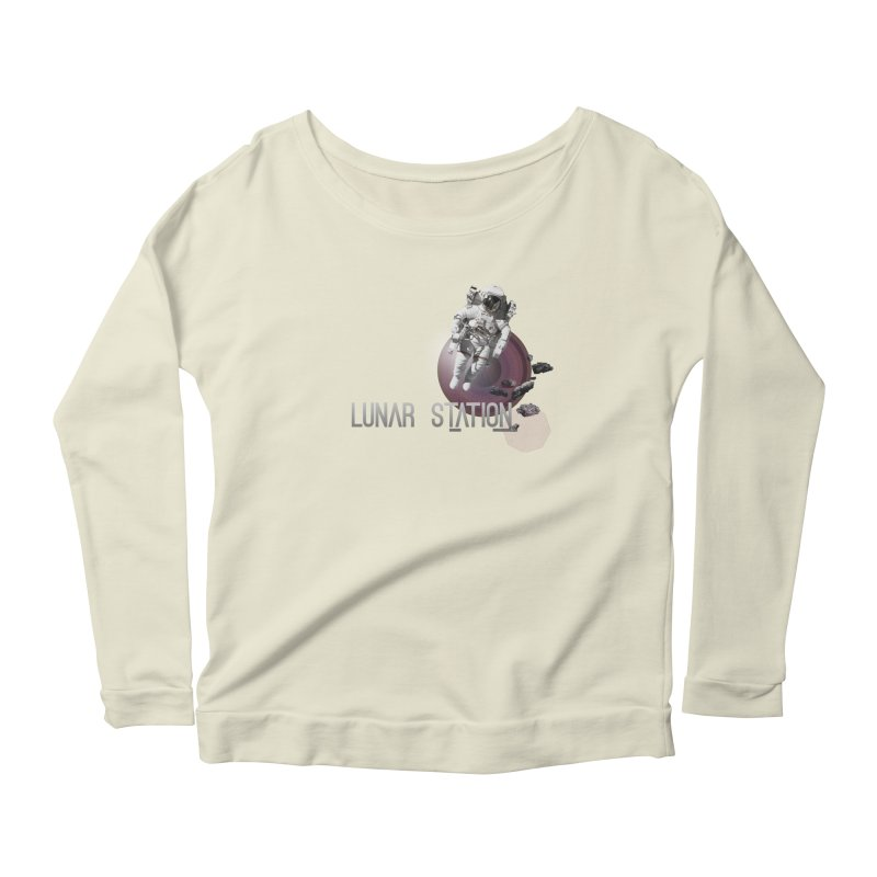 Lunar Station Women's Longsleeve T-Shirt by virbia's Artist Shop