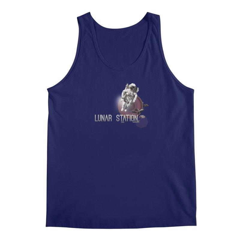 Lunar Station Men's Regular Tank by virbia's Artist Shop