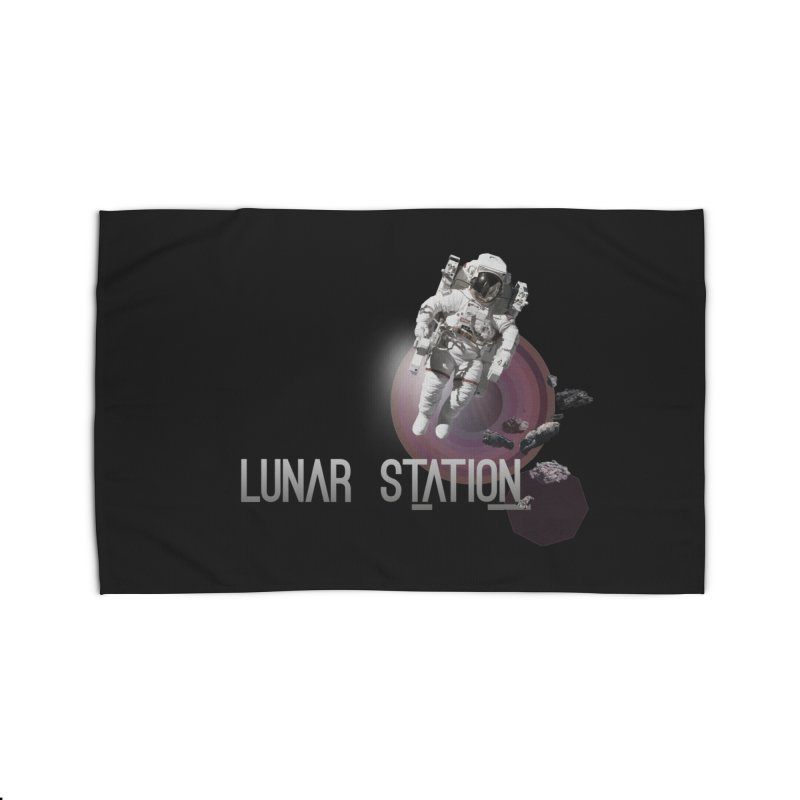 Lunar Station Home Rug by virbia's Artist Shop