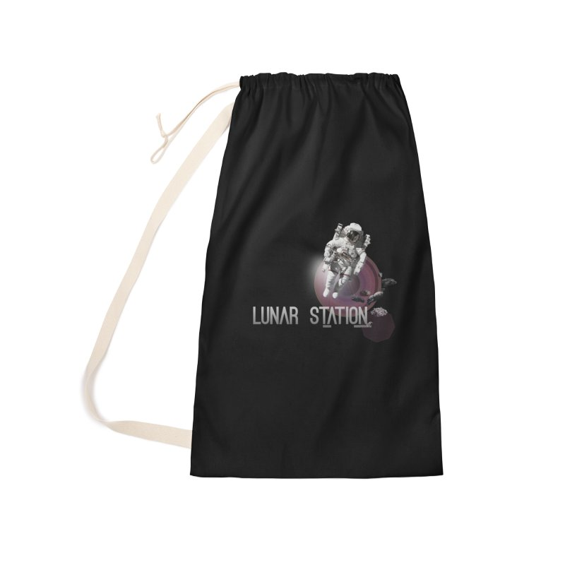 Lunar Station Accessories Bag by virbia's Artist Shop