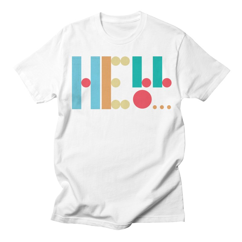 Retro Hello Men's T-Shirt by virbia's Artist Shop