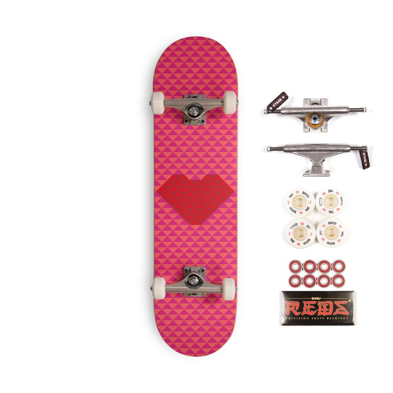 ALWAYS LOVE Accessories Skateboard by virbia's Artist Shop