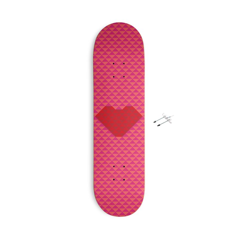 ALWAYS LOVE Accessories With Hanging Hardware Skateboard by virbia's Artist Shop