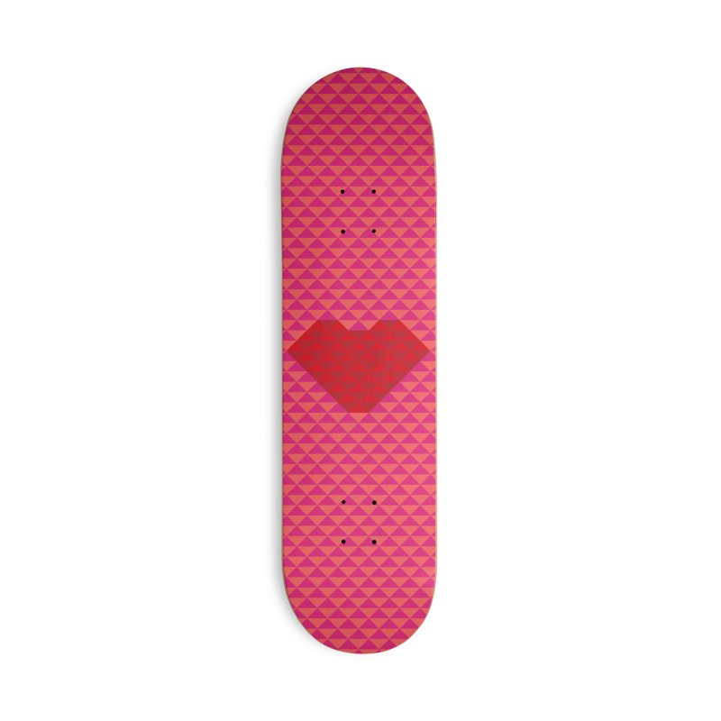 ALWAYS LOVE Accessories Deck Only Skateboard by virbia's Artist Shop