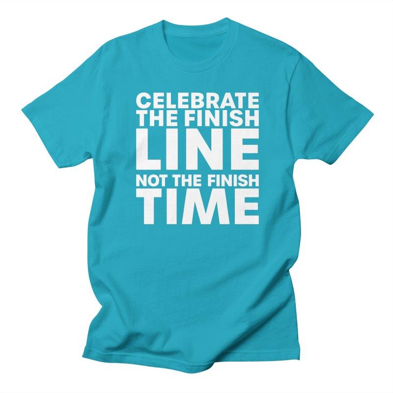 Celebrate the Finish Men's T-Shirt by Virtual Running Club Merch