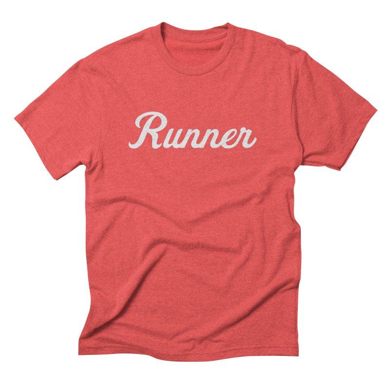 Runner Men's T-Shirt by Virtual Running Club Merch