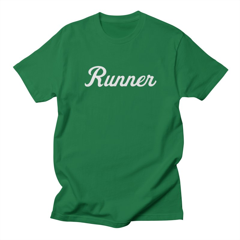 Runner Men's T-Shirt by Virtual Running Club Merch