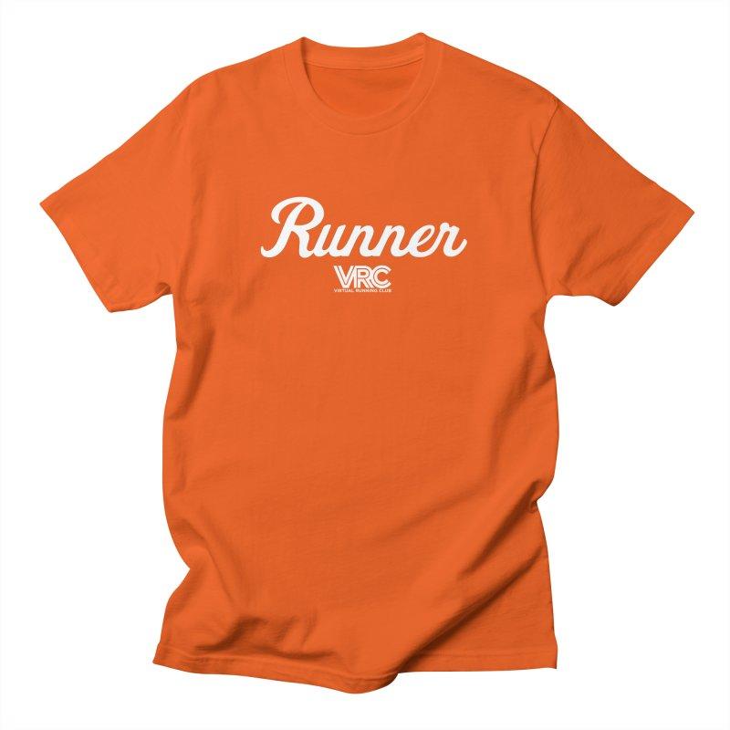Runner (VRC) Men's T-Shirt by Virtual Running Club Merch