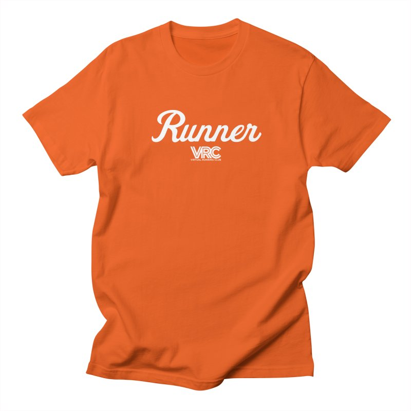 Runner (VRC) Men's T-Shirt by Virtual Running Club Merch