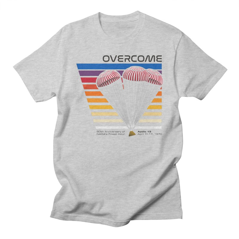 Overcome - Apollo 13 Men's T-Shirt by Virtual Running Club Merch