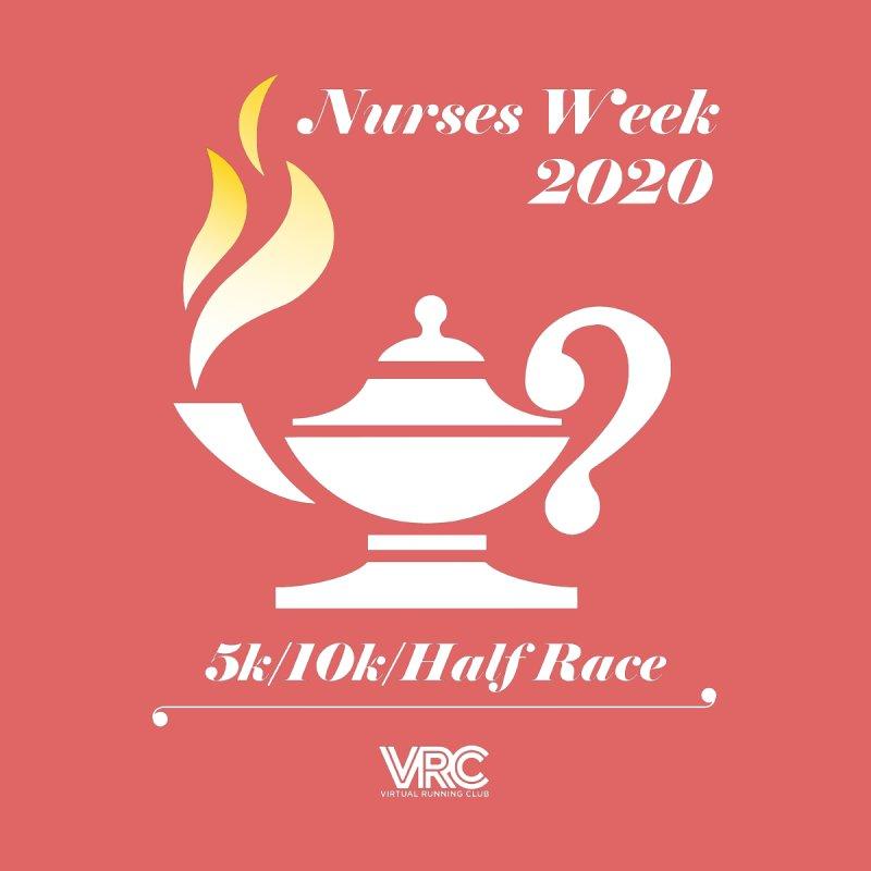 Nurses Week 2020 Men's T-Shirt by Virtual Running Club Merch