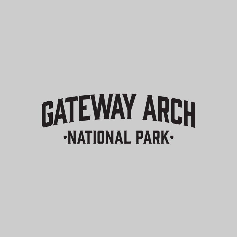 Gateway Arch National Park Men's T-Shirt by Virtual Running Club Merch