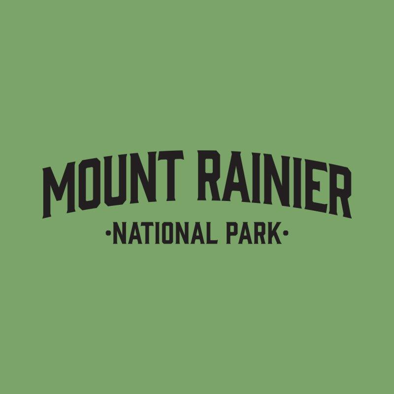 Mount Rainier National Park Men's T-Shirt by Virtual Running Club Merch