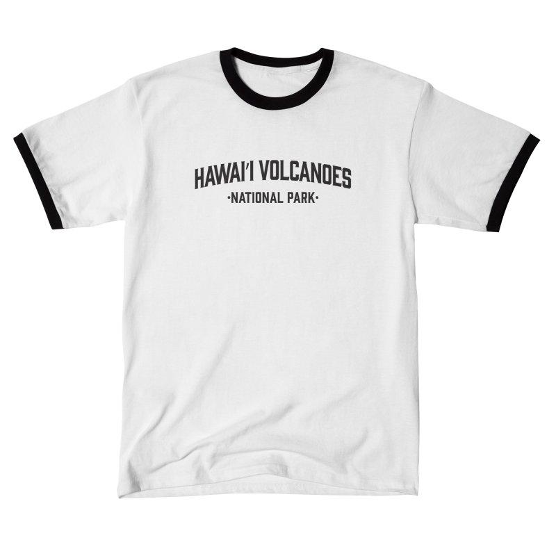 Hawaiʻi Volcanoes National Park Men's T-Shirt by Virtual Running Club Merch
