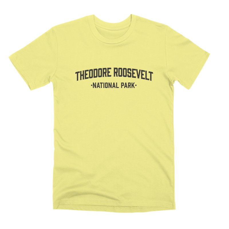 Theodore Roosevelt National Park Men's T-Shirt by Virtual Running Club Merch