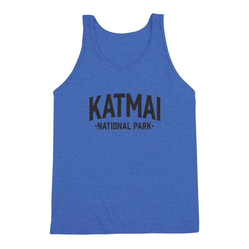 Katmai National Park Men's Tank by Virtual Running Club Merch