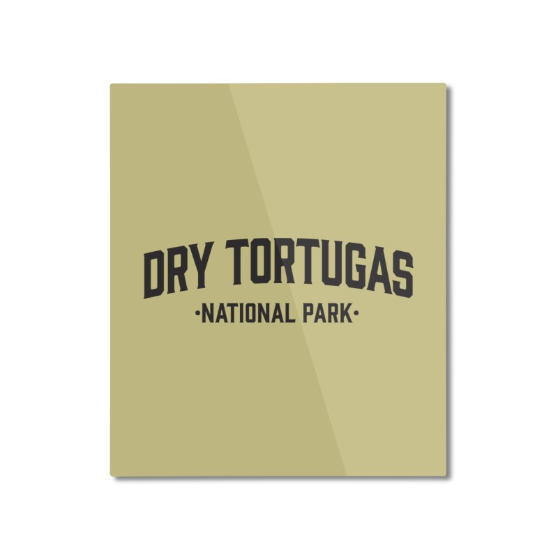 Dry Tortugas National Park Home Mounted Aluminum Print by Virtual Running Club Merch