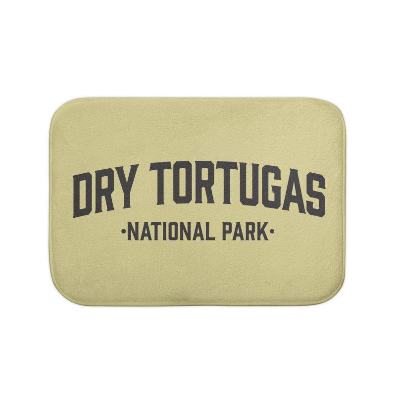 Dry Tortugas National Park Home Bath Mat by Virtual Running Club Merch