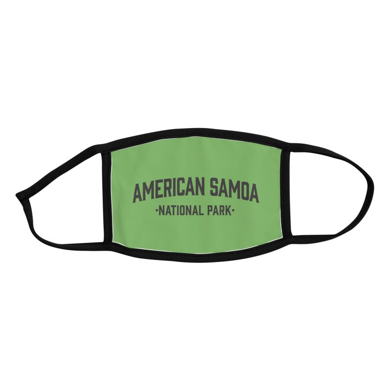 American Samoa National Park Accessories Face Mask by Virtual Running Club Merch